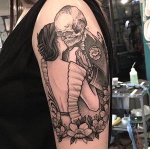 Tatuaggio braccio Milano