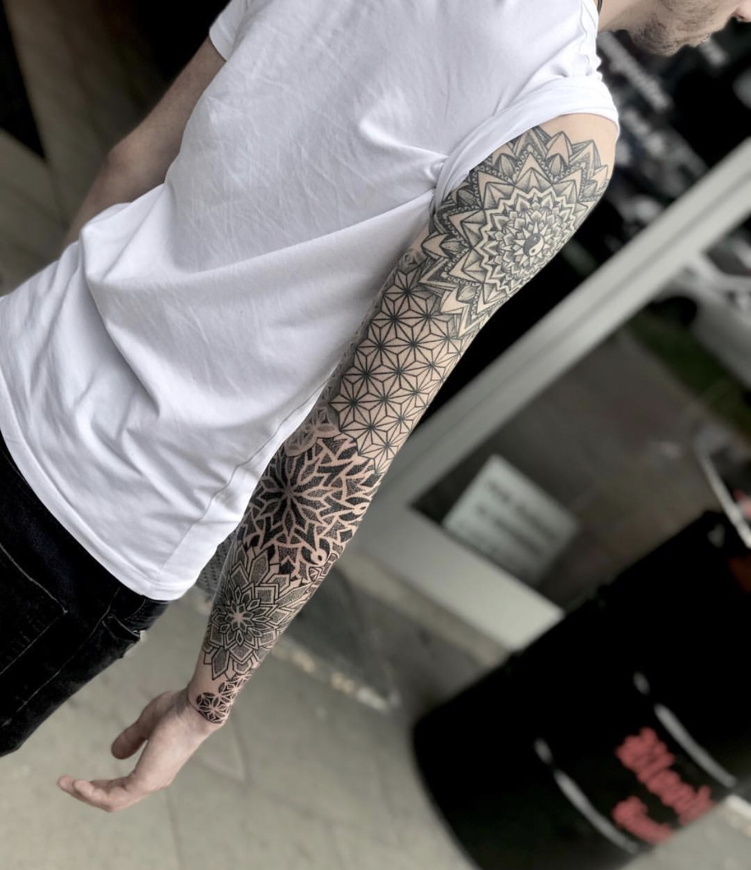 Tatuaggi braccio uomo Milano