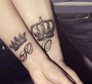 Tatuaggio corona Milano