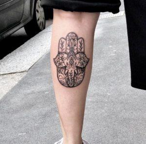 Tatuaggio polpaccio Milano