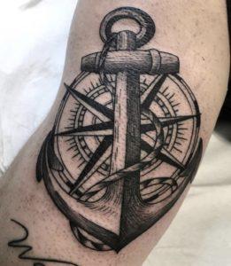 Ancora tatuaggio Milano