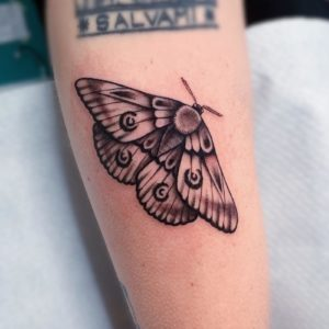 Tatuaggio farfalla Milano